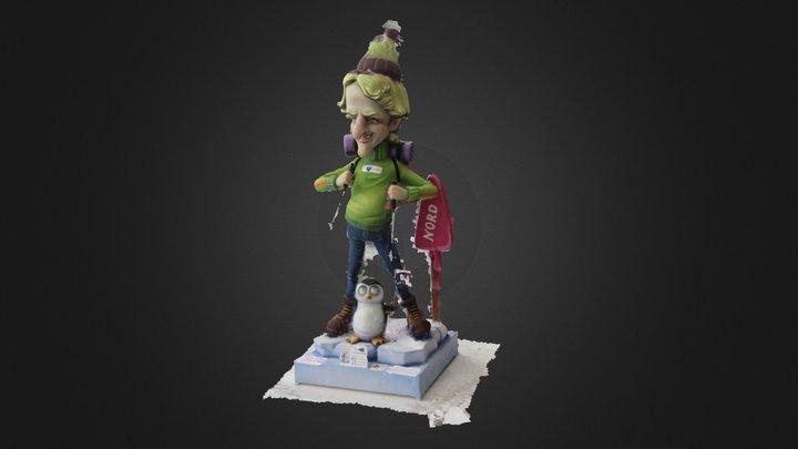 Jesus Calleja 3d 3D Model
