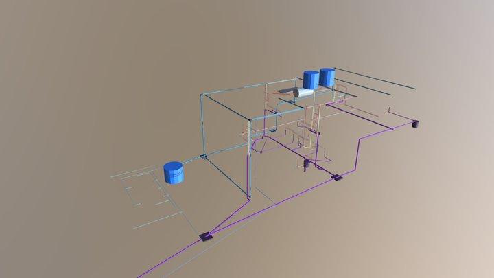 HIDRÁULICO FATIMA 3D Model