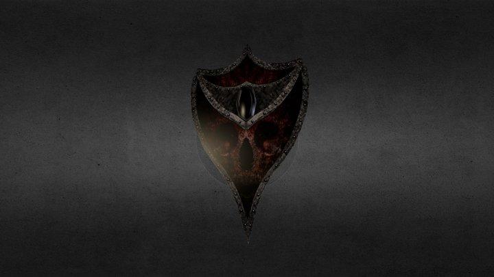Haunted_Kithicor_Shield.obj 3D Model