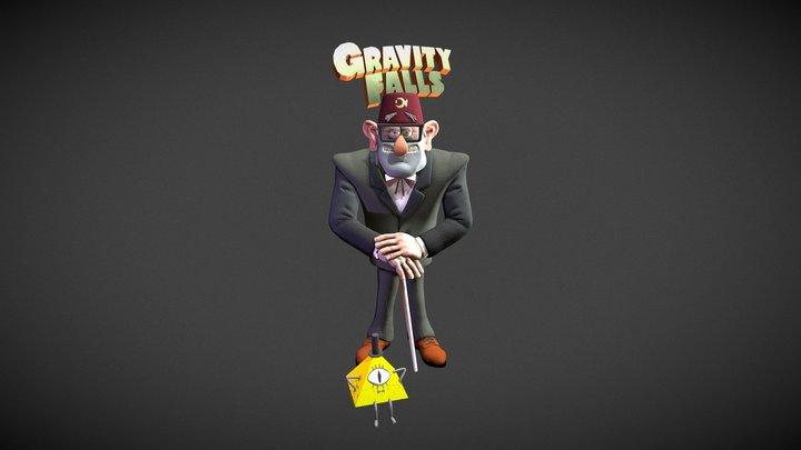 Grunkle Stan Pines 3D Model