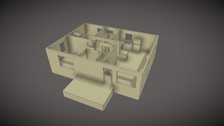 UMC-884-1-Interior 3D Model