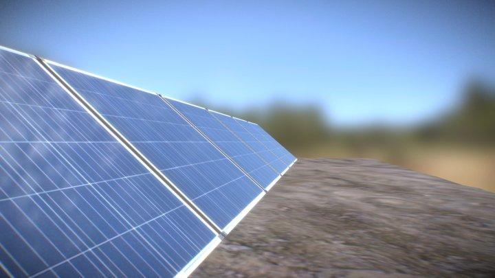 Solar Kit Deplegator 3D Model