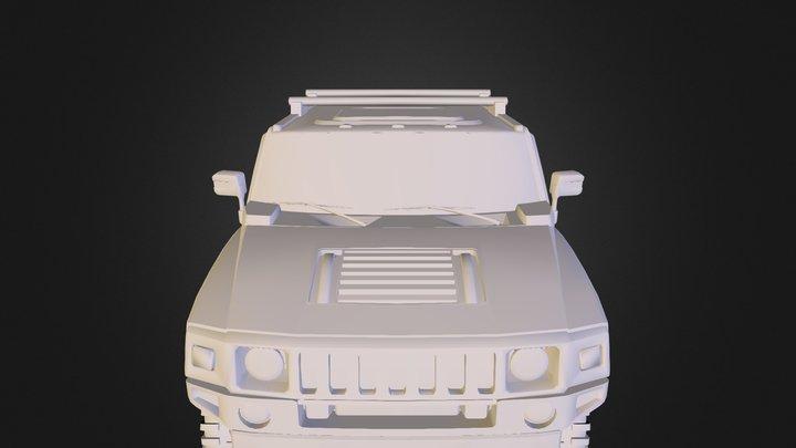 Hummer H2 S U T 3D Model