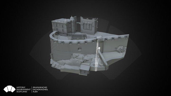 Fore Well, Edinburgh Castle 3D Model