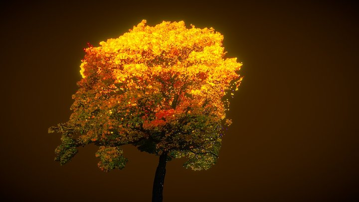 Beautiful Autumn 3D Model