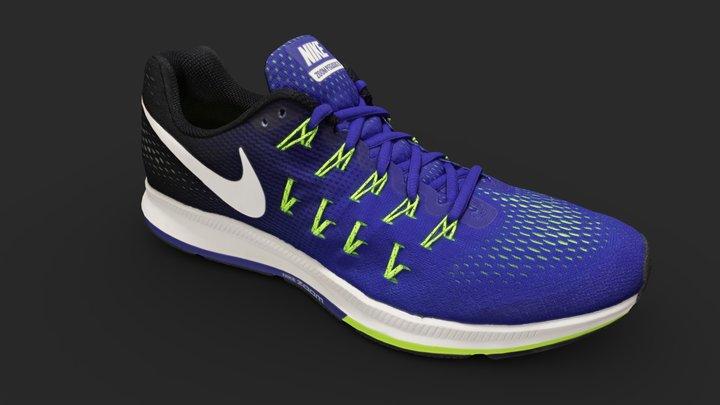 Nike Zoom Pegasus Shoe 3D Model