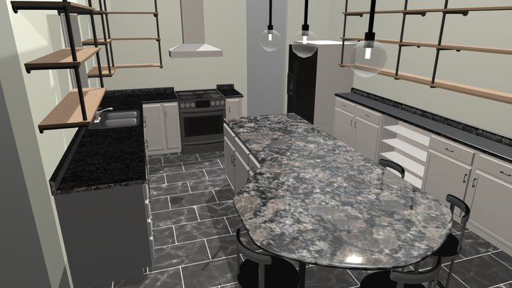 Ma-It Kitchen Renovation Mk3 3D Model