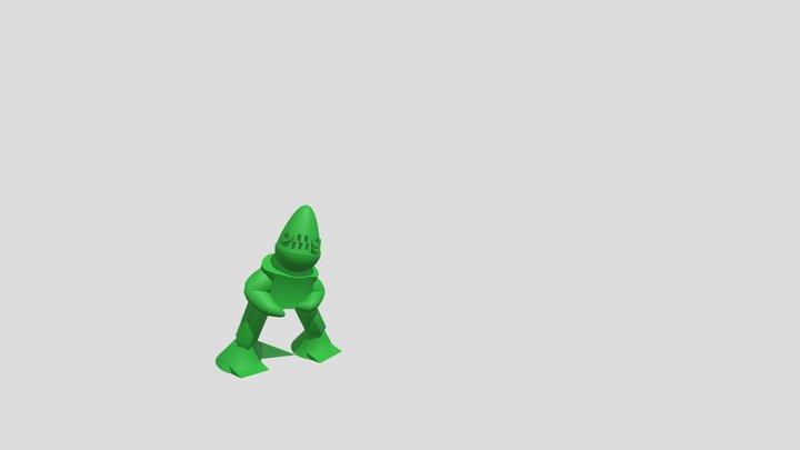 Bboy Uprock 3D Model