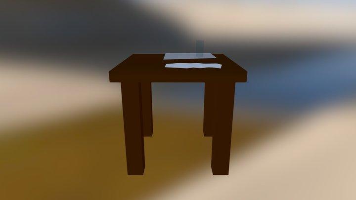 Stol 3D Model