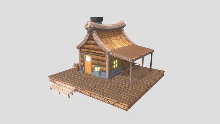 Cabin Fever - Tiny Cabin Challenge 3D Model