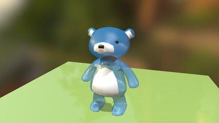 Jelly Bear 3D Model