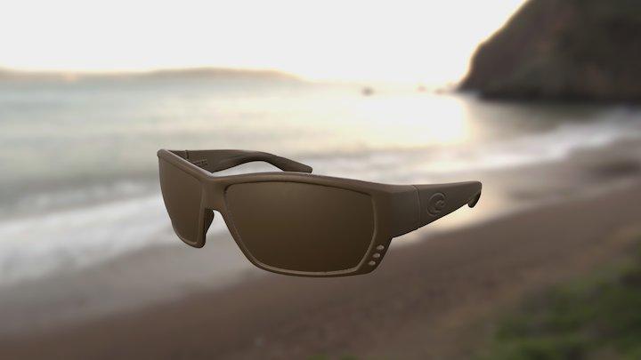 Costa Tuna Alley Sunglasses 3D Model