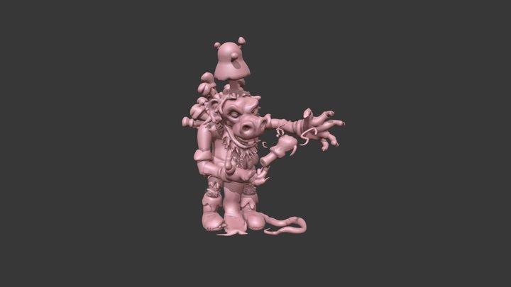Fungelmancer 3D Model