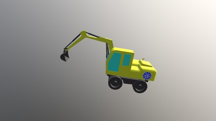 Bagger 3D Model