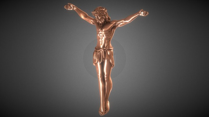 The Crucifixion 3D Model