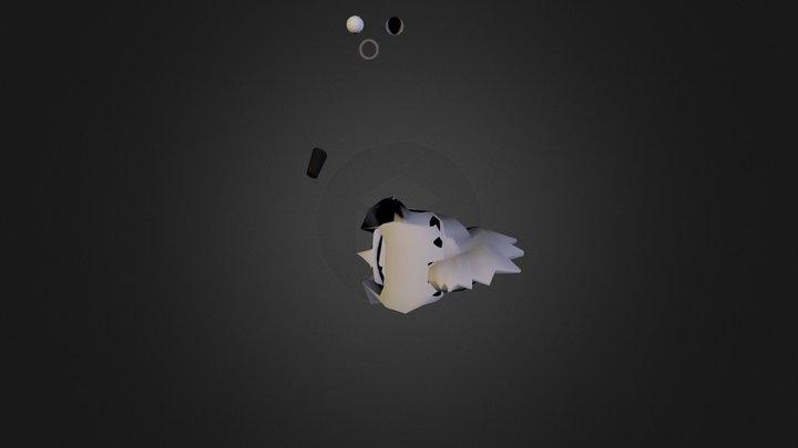 Hiena nueva 3D Model
