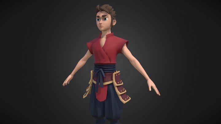 Protagonist Character 3D Model