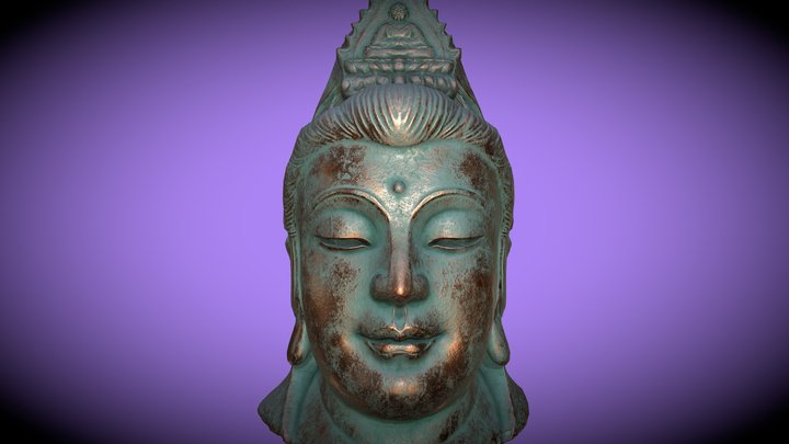 KWAN—YIN (Copper) 3D Model