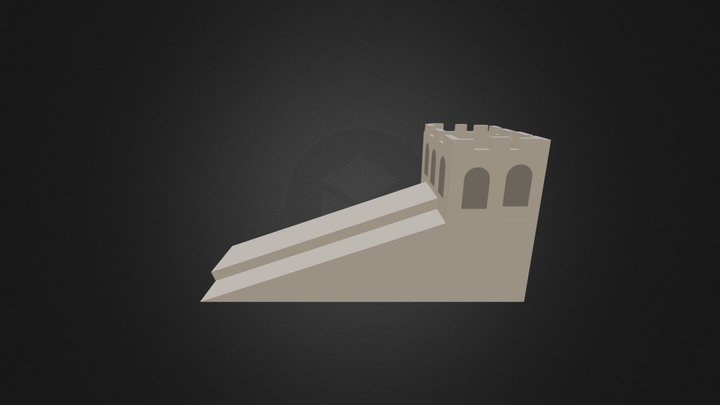 Muraille Chine 3D Model