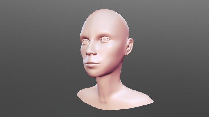 Selfie v3 3D Model