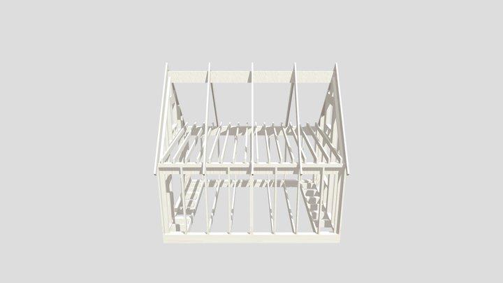 Stomme Fritidshus 3D Model