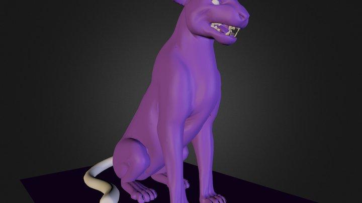 Fera Moura 3D Model