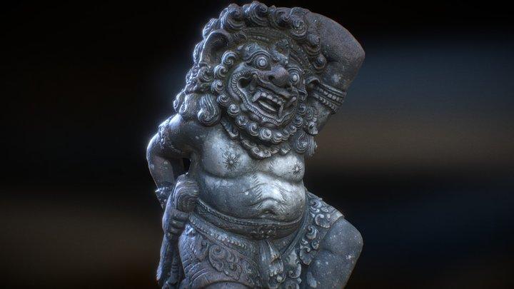 Bali-statue-001 3D Model