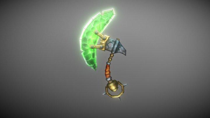 Emerald Axe 3D Model