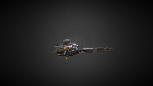 Armc turret 3D Model