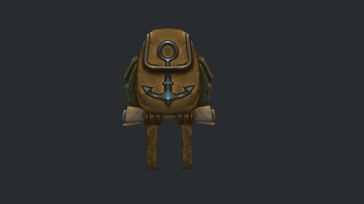 Kul Tira Backpack fanart 3D Model