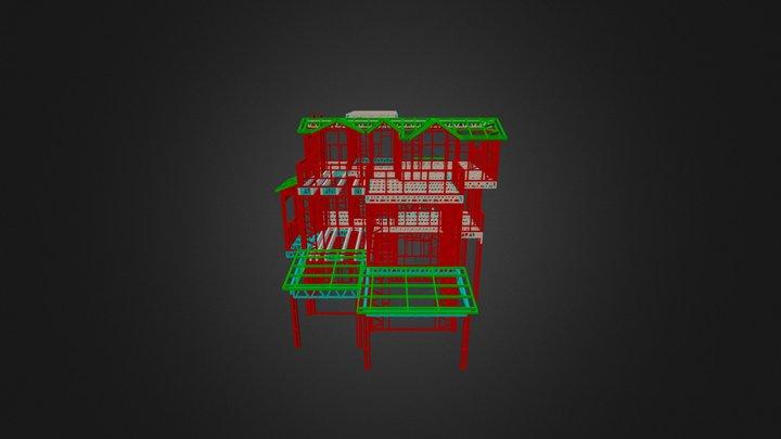 3 Floor Izmir 3D Model