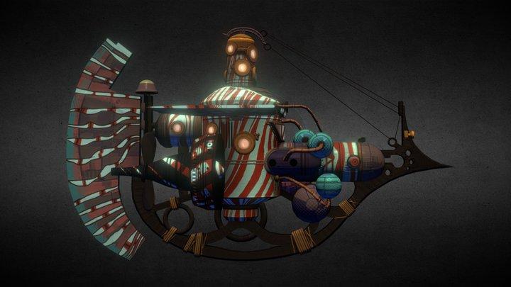"Lionfish ""Spiny Death"" 3D Model"