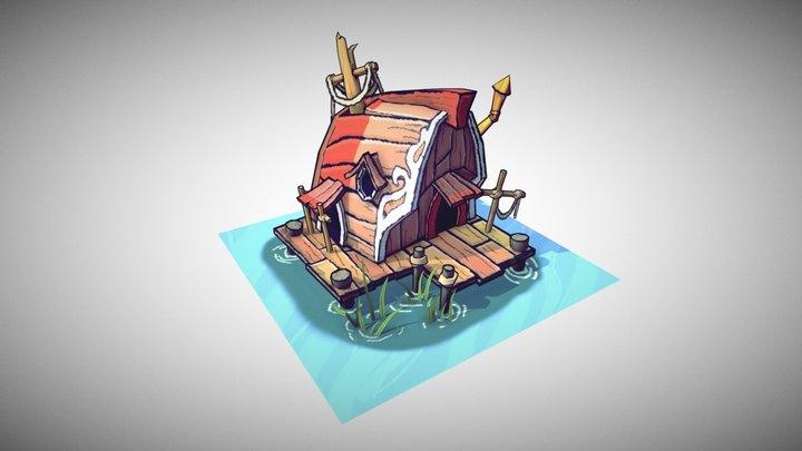 Pirate building 3D Model