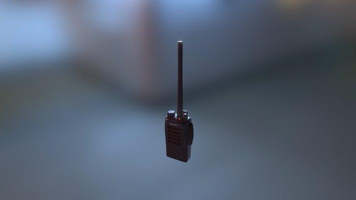 Walkiet Talkie ( Bad mesh ) 3D Model