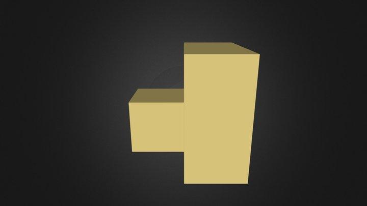 Yellow Cube 3D Model