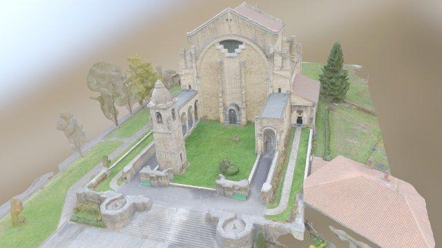 Modelo 3d del Santuario de Urkiola 3D Model