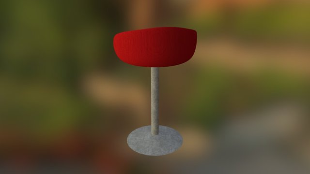 Stylised Chair 3D Model