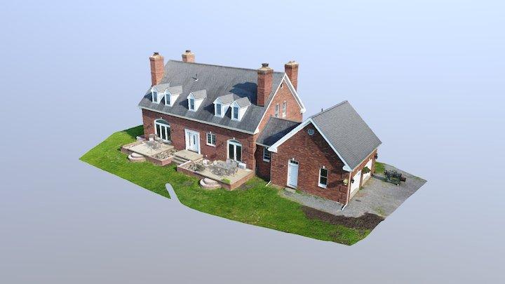 P4 House Merged Simplified 3d Mesh 3D Model