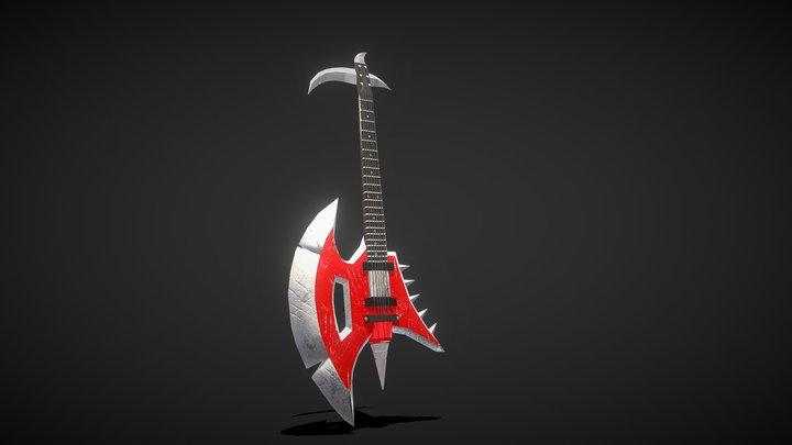 Mordekaiser's pentakill guitar 3D Model