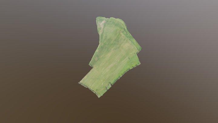 Cartographie parcelle de blé - 49 3D Model