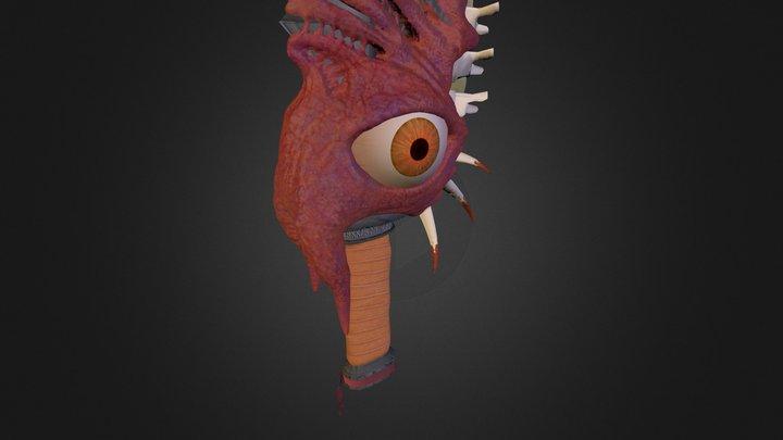 Corrupted Blade 3D Model