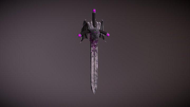 Dragon Sword 3D Model