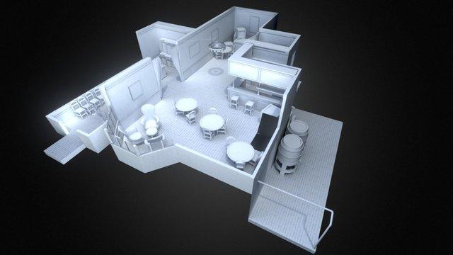 Infiltration Stage Mock-Up 3D Model
