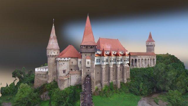 Castelul Corvinilor II 3D Model
