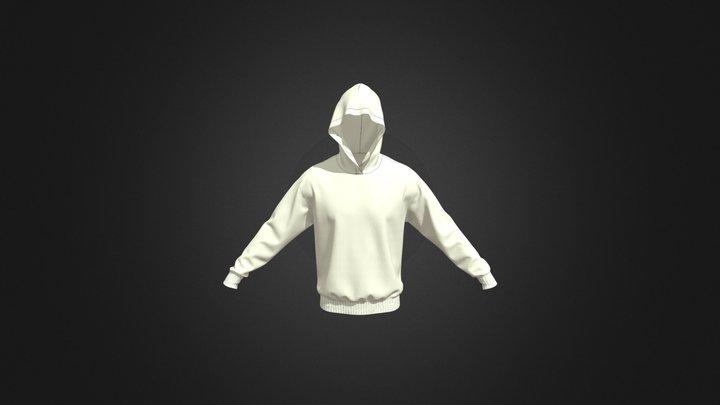 Men's Hood (Ivory) 3D Model