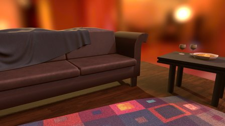 welcome home 3D Model