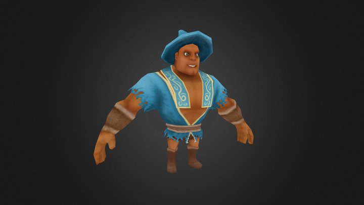 Brabo the Mage 3D Model