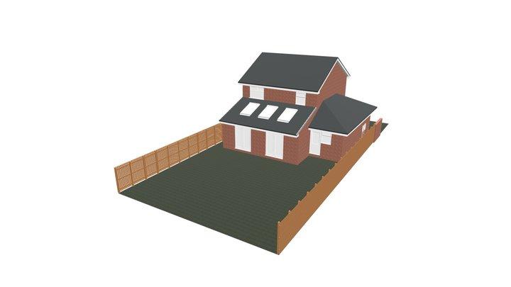 Killingworth 4th Bedroom - Existing 3D Model