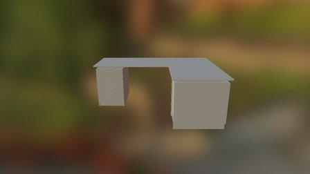 Schreibtisch 3D Model