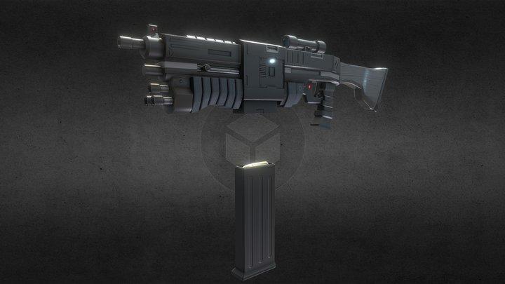 Cobra Assault Rifle 3D Model